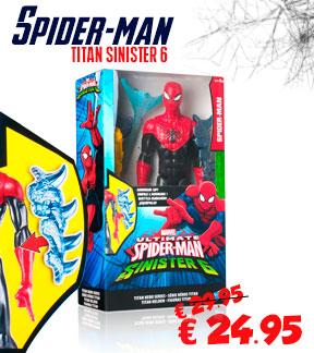 Spiderman speelgoed speelfiguur