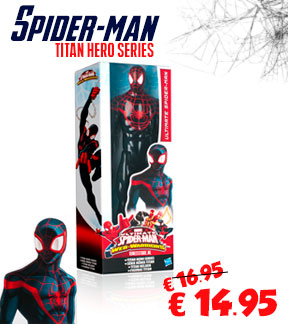 Actiefiguur Spiderman Titan Web