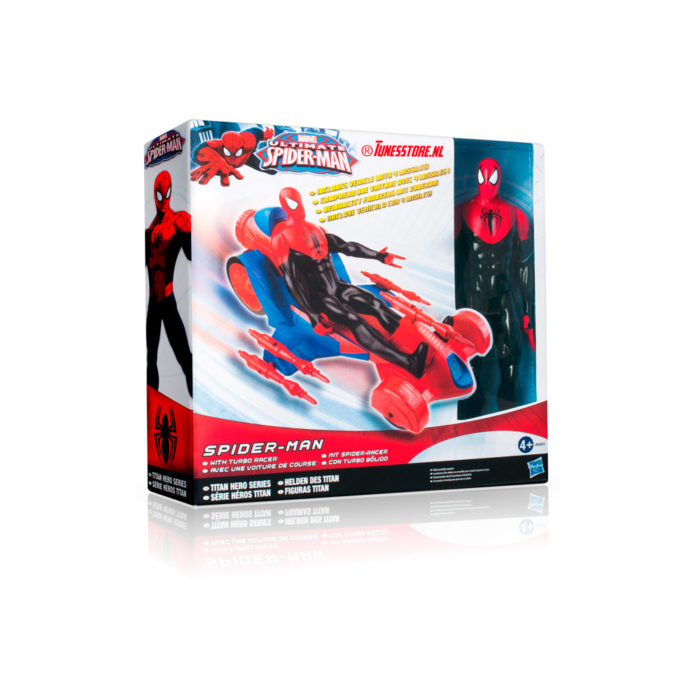 Spiderman raceauto