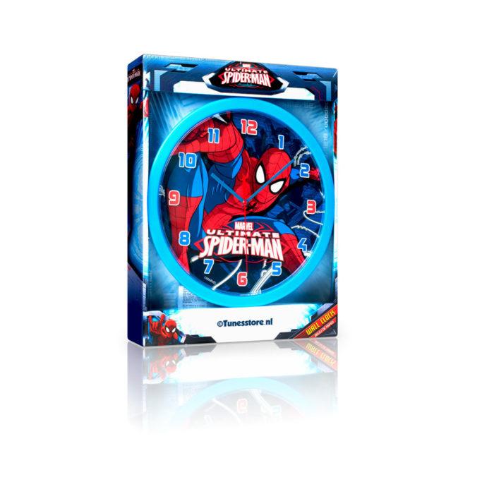 spiderman-wandklok-nieuw