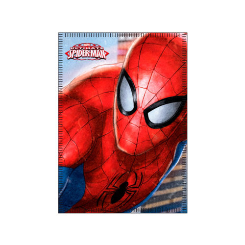spiderman-fleece-deken