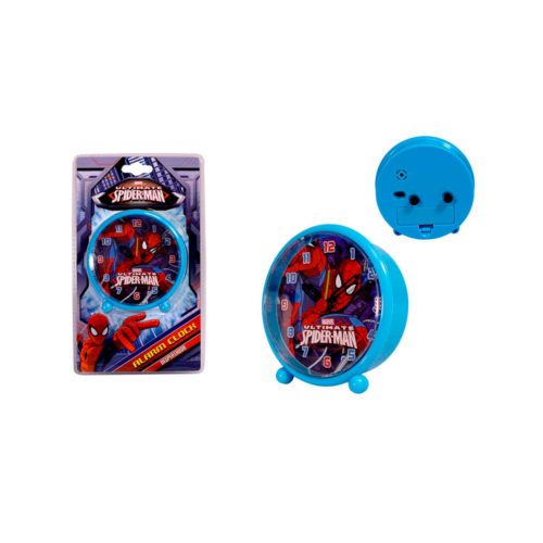 spiderman-wekker-klok