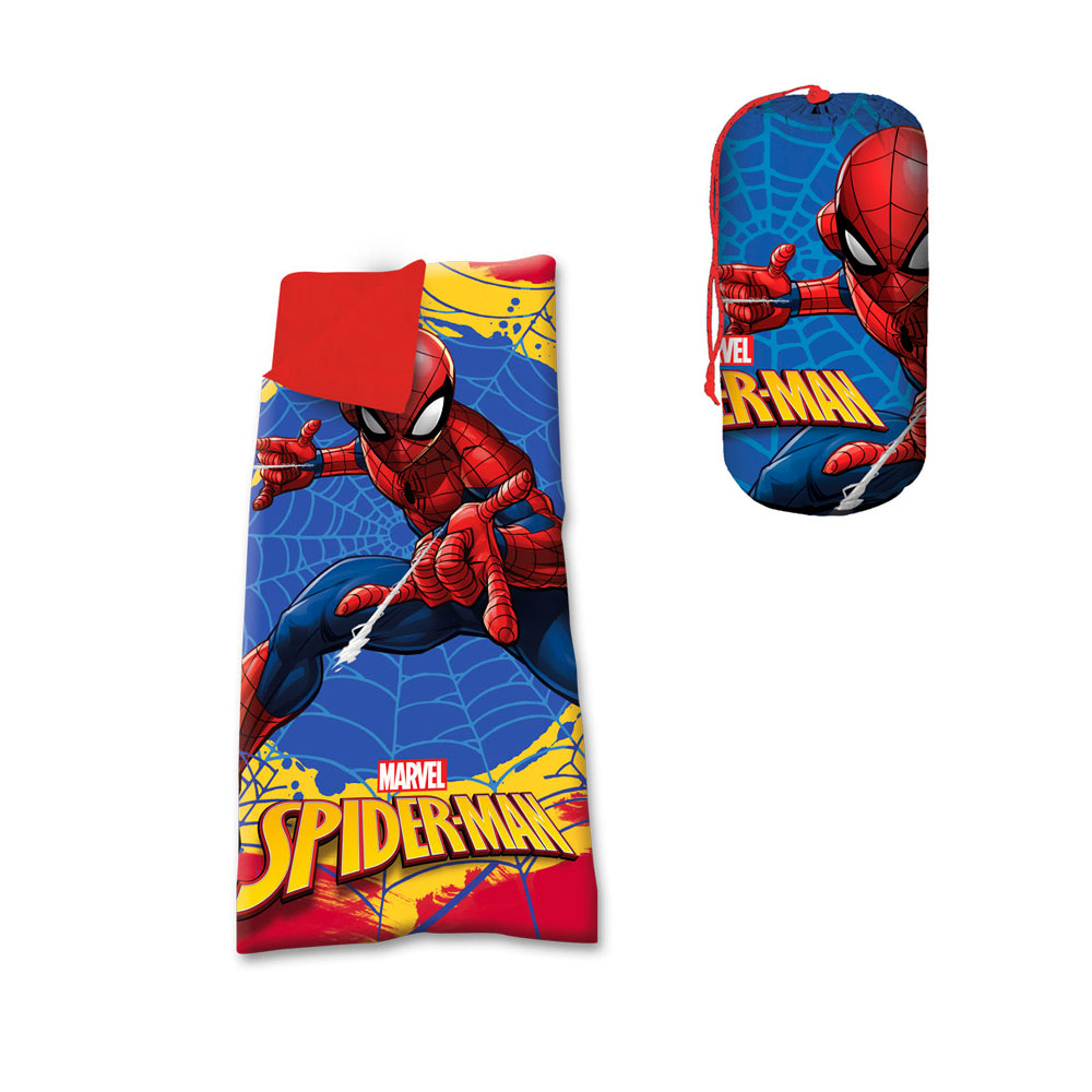 spiderman slaapzak