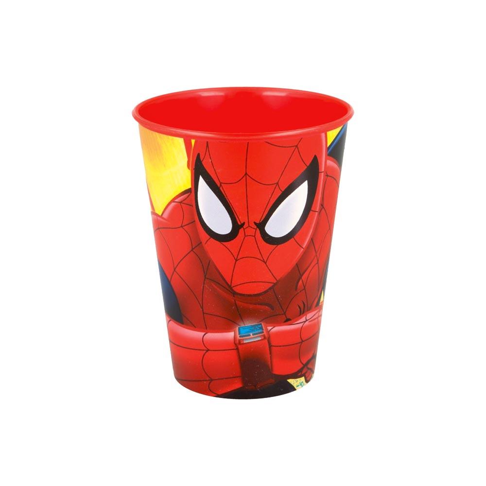 spiderman-drinkbeker-rood