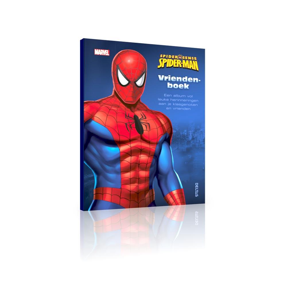 spiderman-vriendenboek