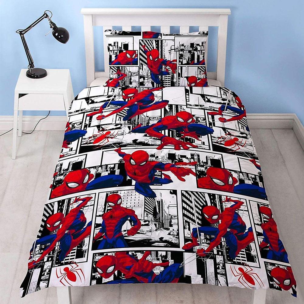 spiderman-speelgoed-dekbedovertrek