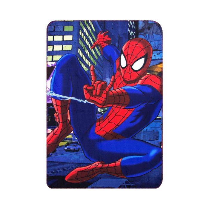 spiderman-fleecedeken-jumping