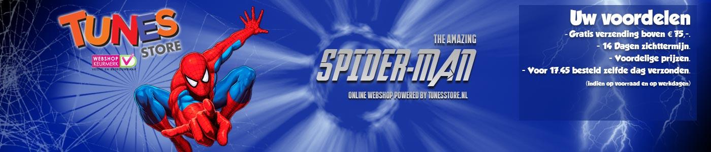 Spiderman Speelgoed en merchandising webshop Logo