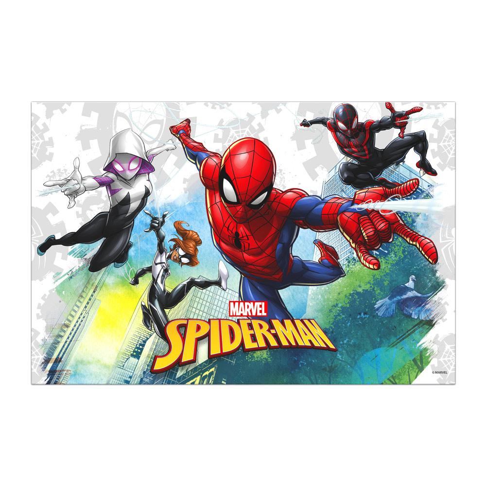 spiderman-tafelkleed-verjaardag