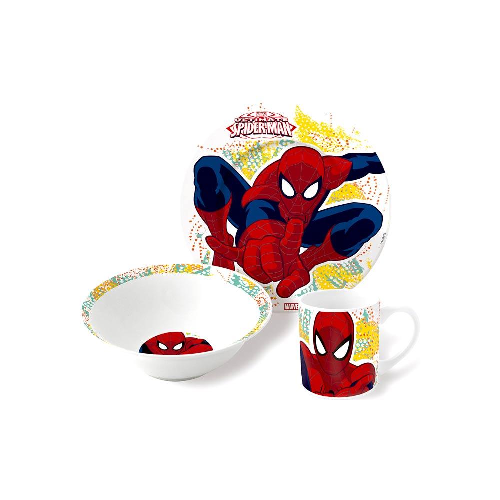 spiderman-servies