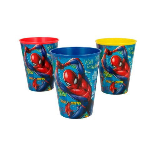 spiderman-drinkbekers-set