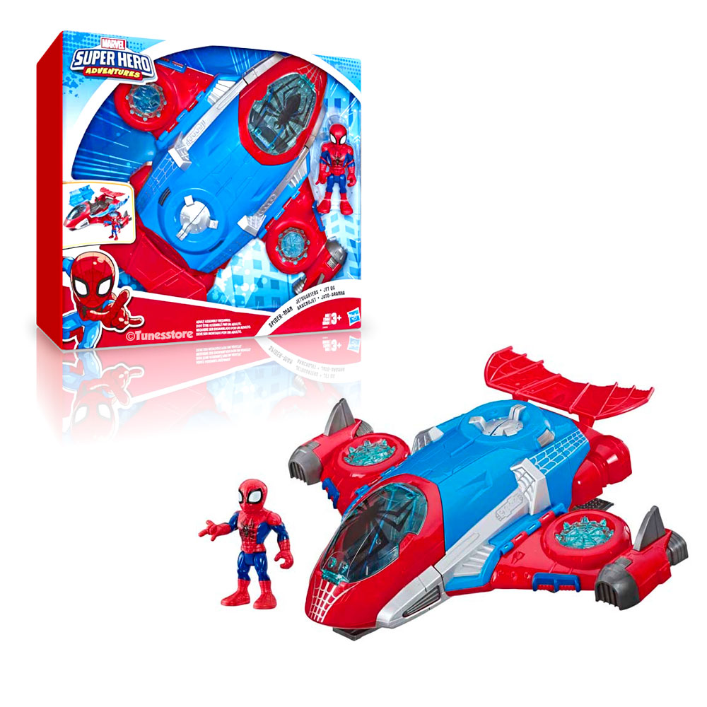 spiderman-jet